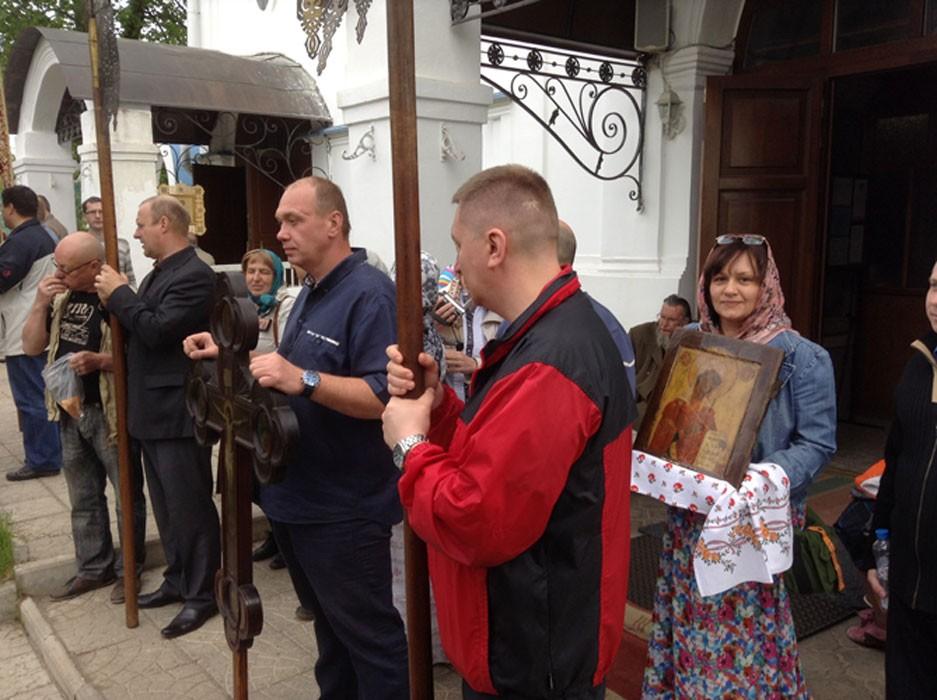 Крестный ход, май 2014 3