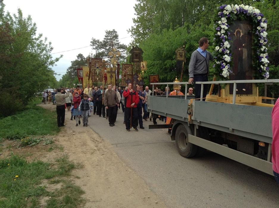 Крестный ход, май 2014 7