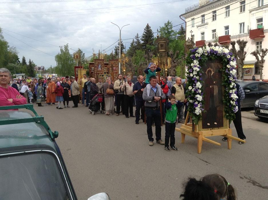 Крестный ход, май 2014 11