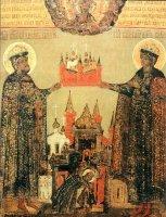 Святые князья страстотерпцы Борис и Глеб