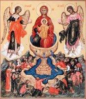 Икона Божией Матери Живоносный источник  (в пяток Святой седмицы)