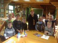 День памяти преподобного Сергия Радонежского  в воскресной школе прихода