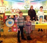 Выставка Рождественских работ