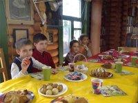 Пасхальный праздник у детей