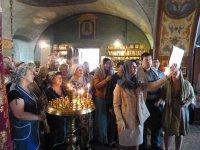 Престольный праздник в храме д. Середниково