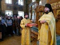 Частица саккоса свт. Алексия, митрополита Московского, передана на Московское Валаамское подворье