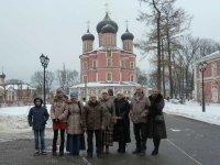Поездка в Донской Монастырь (Москва)
