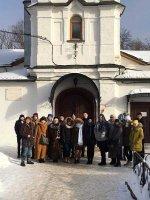 Экскурсия старшеклассников Чашниковской школы в Середниково