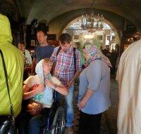 Гости из Общества инвалидов