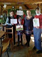 Урок рисования в воскресной школе