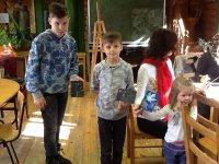 Мастер-класс в детской группе воскресной школы