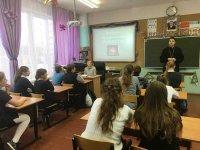 Беседа в Чашниковской средней школе