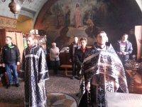 Панихида о погибших на пожаре в Кемерово