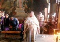 Панихида новопреставленному архиепископу Григорию