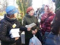 Акция «Пасхальная весть» в Середниково