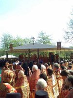 Патриаршее богослужение в Бутове
