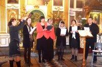 Кондак «Душа моя» в исполнении клиросного хора Алексиевского храма
