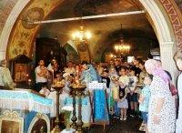 День знаний на приходе Алексиевского храма д. Середниково