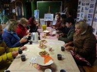 Экскурсия учащихся Чашниковской школы в Середниково