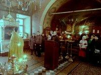 Посещение Алексиевской церкви группой подопечных общества инвалидов из Зеленограда