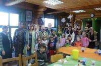 Пасхальный праздник в воскресной школе Алексиевского храма д. Середниково