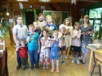 День защиты детей в воскресной школе Алексиевского храма д. Середниково