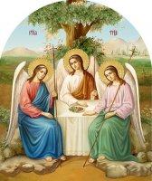 Праздник Троицы в Середниково