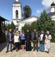 Замоскворецкое общество трезвости в гостях у Алексиевского храма