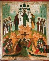 Предпразднство происхождения честных древ Животворящего Креста Господня