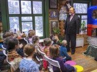 Вертепное представление в воскресной школе