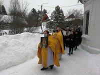 Престольный праздник в Алексиевском храме д. Середниково